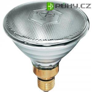 Reflektorová žárovka PAR 38, E27, 80 W, typ Economy-flood, bílá