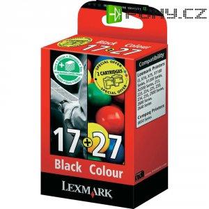 Cartridge do tiskárny Lexmark 17,27, 80D2952, žlutá/cyanová/magenta/černá
