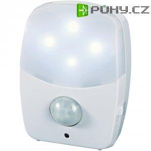Noční LED svítidlo s detektorem pohybu, 0,6 W, bílá/bílá