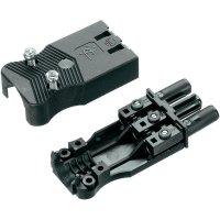 Síťová zásuvka Adels Contact AC 166 GBUF/325, 250 V, 16 A, černá, 165663V9