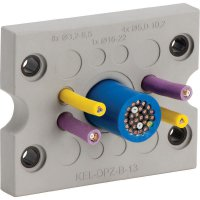 Kabelová průchodková lišta Icotek KEL-DPZ-B17 (43796), IP66, 72,8 x 58 mm, šedá