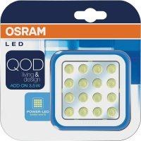 Nástěnné LED svítidlo Osram QOD, 3,5 W, 7 cm, teplá bílá