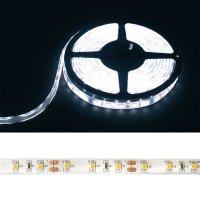 LED pásek 3528 60LED/m IP68 4,8W/m bílá studená (1ks=cívka 5m) voděodolný