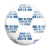 Respirační filtr 3M, EN 143, třída P2, 2125, 10 párů