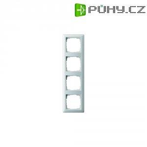 Krycí rámeček Gira, 021404, čtyřnásobný, matná bílá