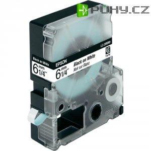 Páska do štítkovače LabelWorks LC-2WBN9, C53S623402, bílá/černá, 6 mm