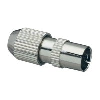 Spojka koaxiálního kabelu, 410324, 5 - 7 mm, kovová