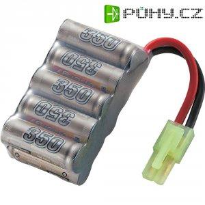 Akupack NiMH (modelářství) Conrad energy, 12 V, 350 mAh, zásuvka mini Tamiya