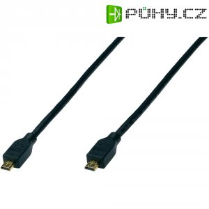 HDMI® High Speed micro-kabel s ethernetem, 4,5 m