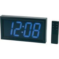 Digitální nástěnné LED hodiny s budíkem Jumbo, WC-407, 313 x 42.5 x 164 mm