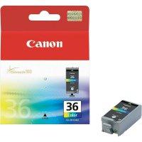 Cartridge Canon CLI-36, 1511B001, žlutá/cyanová/magenta