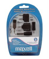 Sluchátka Maxell 303401 Sada konektorů