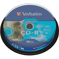 Verbatim CD-R80 700MB 52X 10 ks SP LIGHTS