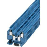 Mini svorka 2násobná P. Contact MT 1,5-QUATTRO BU (3025150), šroub., 4,2 mm, modrá