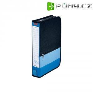 KANCELÁŘSKÁ BRAŠNA NA 64 CD, MODRÁ/ČERNÁ modrá, černá 64 CD/DVD (d x š x v) 200 x 63 x 295 mm Hama