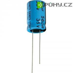 Kondenzátor elektrolytický Yageo SX010M0047B2F-0511, 47 µF, 10 V, 20 %, 11 x 5 mm