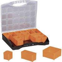 Box na součástky Alutec 56110, 300 x 255 x 54 mm, černá