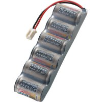 Akupack NiMH (modelářství) Conrad energy 206631, 7.2 V, 1300 mAh