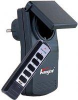 Dálkově ovládaná zásuvka+D.O.IP44