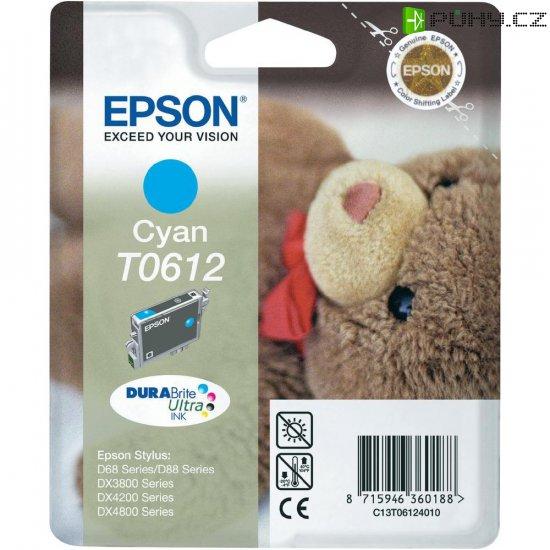 INKOUST EPSON T061240 CYAN - Kliknutím na obrázek zavřete
