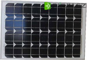 Fotovoltaický solární panel 12V/40W/2,27A monokrystalický