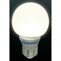 LED žárovka E27, 2.5 W, matná,teplá bílá