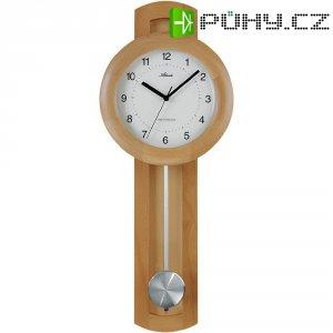 DCF nástěnné hodiny s kyvaldem, 562/30, 24 x 65,5 cm, dřevo