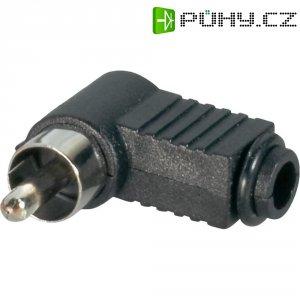 Cinch zástrčka BKL Electronic 72141/T, 2pól., černá