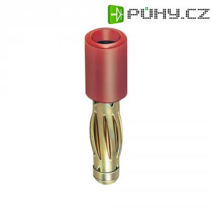Adaptér 4/2 mm MultiContact 24.0106-22, TPE, rovný, červená