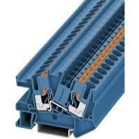 Svorka Push-in průchodová Phoenix Contact PITI 6 BU (3213973), 8,2 mm, modrá