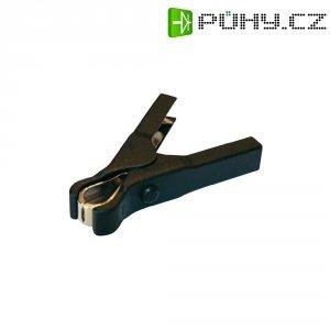 Krokosvorka SET LZ41, 0210205, 40 A, 6,3 mm, černá