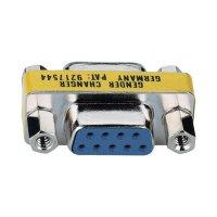 Adaptér D-SUB Digitus, 9-pólový, zásuvka/zásuvka