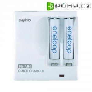 Nabíječka Sanyo Quick Charger MDR02 SY29105 + 2x AAA