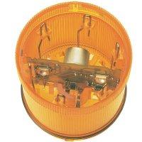 LED stálá signálka Werma 644.300.75, 24 V, IP65, žlutá