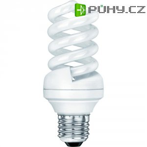 Úsporná žárovka spirálová Sygonix E27, 15 W, teplá bílá