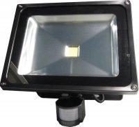 Reflektor LED 50W s PIR čidlem. vadný, použitý