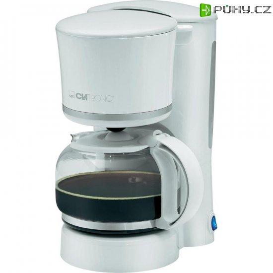Kávovar Clatronic KA3555, bílá, stříbrná - Kliknutím na obrázek zavřete