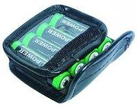 Pouzdro baterie 4xR6 kožené