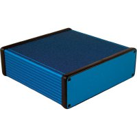 Univerzální pouzdro hliníkové Hammond Electronics, (d x š x v) 160 x 165 x 51,5 mm, modrá