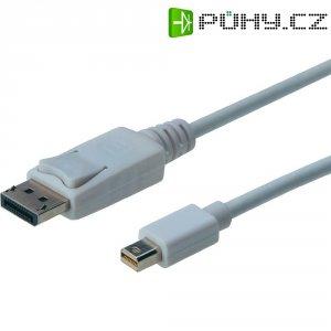 Kabel DislayPort ⇔ Mini DisplayPort, 2 m, bílý