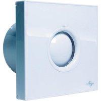 Vestavný ventilátor s časovačem Protector PROAIR, 230 V, 75 m3/h, 14 x 15 cm, bílá