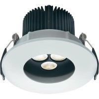 Vestavná LED světlo Sygonix Rea 17338Q, 3x 2,5 W, bílá/hliník