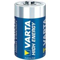 Alkalická/manganová baterie Varta High Energy, typ C, sada 2 ks