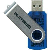 Flash disk Platinum Twister 64GB modrý
