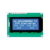 LCD displej Anag Vision, AV4040BNBW-WJ, 13,6 mm, Anag V, bílá/modrá