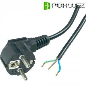 Síťový kabel Goobay 50083, zástrčka/otevřený konec, 0,75 mm², 1,5 m, černá