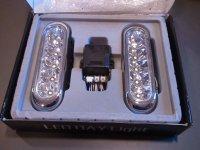 Denní svícení LED 2 x 5xLED 12/24V
