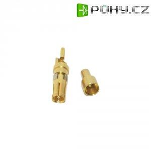 Koaxiální zásuvkový kontakt Conec 132J30019X, 179 B/U 187 A/U (B = 7,3), pozlacený
