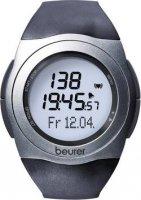 Hodinky s měřením pulzu Beurer PM 25, 673.05, černá/šedá