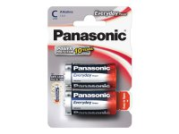 Baterie C (R14) alkalická PANASONIC Everyday Power LR14 2BP